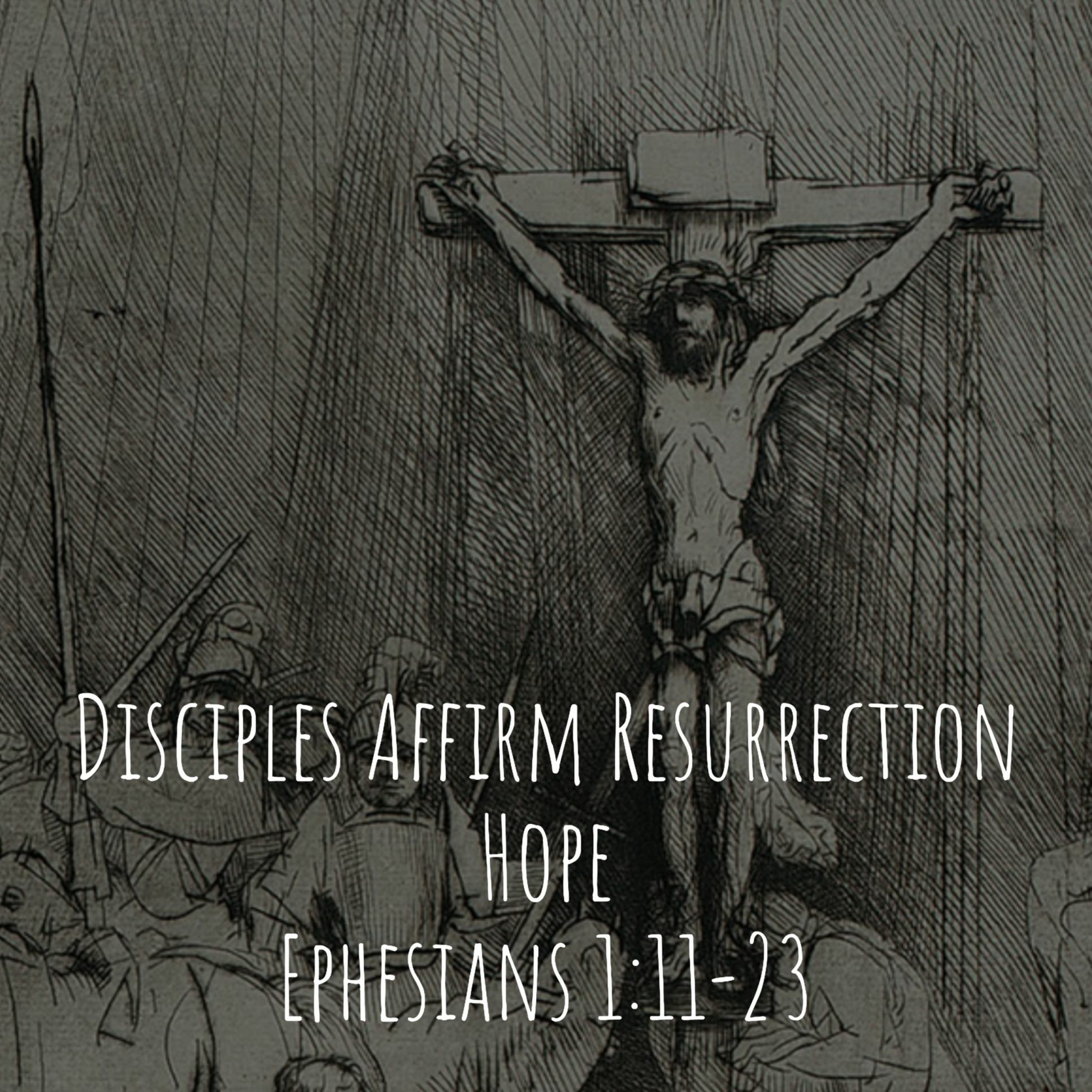You are currently viewing Disciples Affirm Resurrection Hope