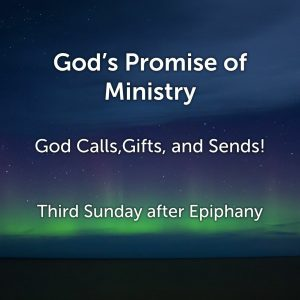 God's Promise of Ministry
