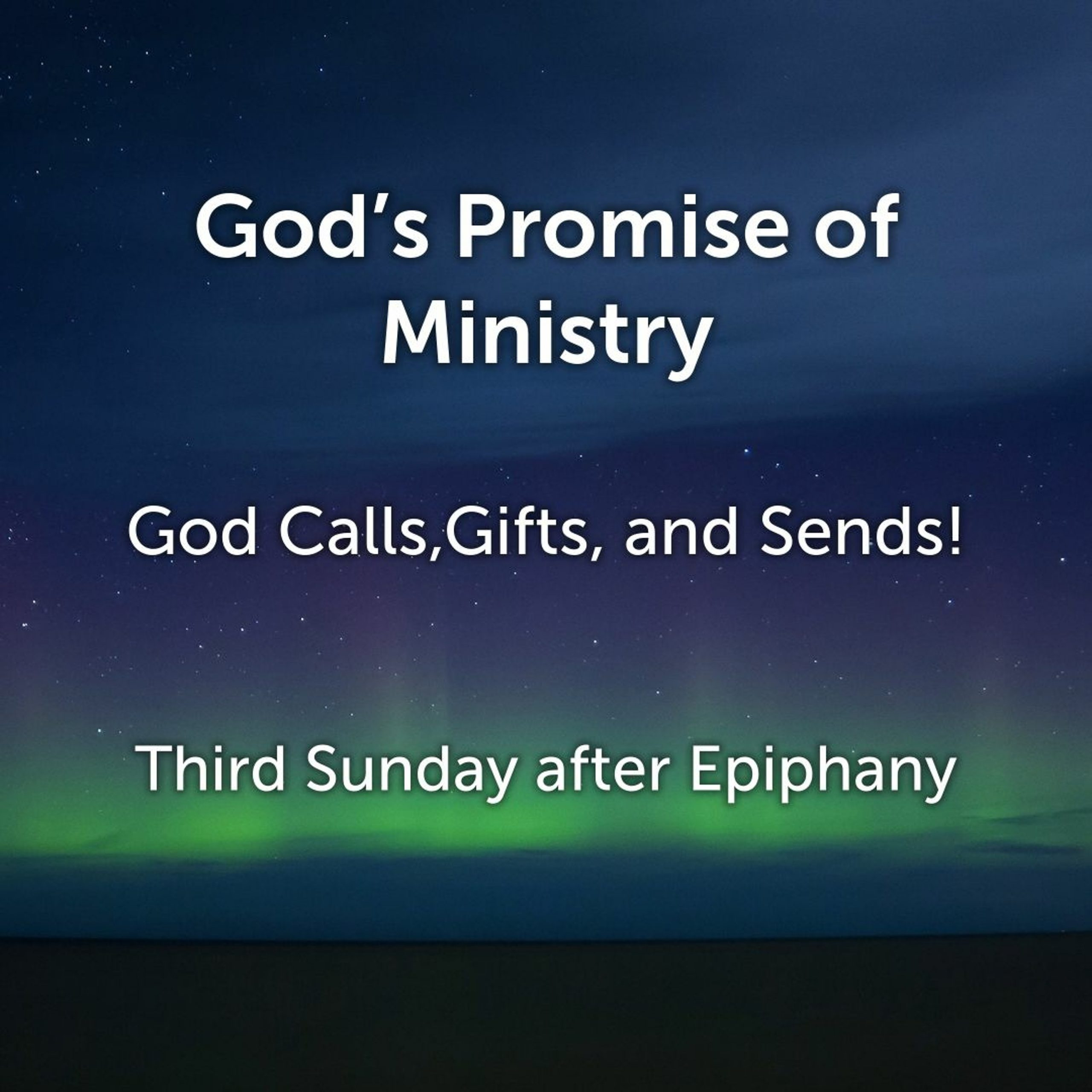 You are currently viewing God's Promise of Ministry