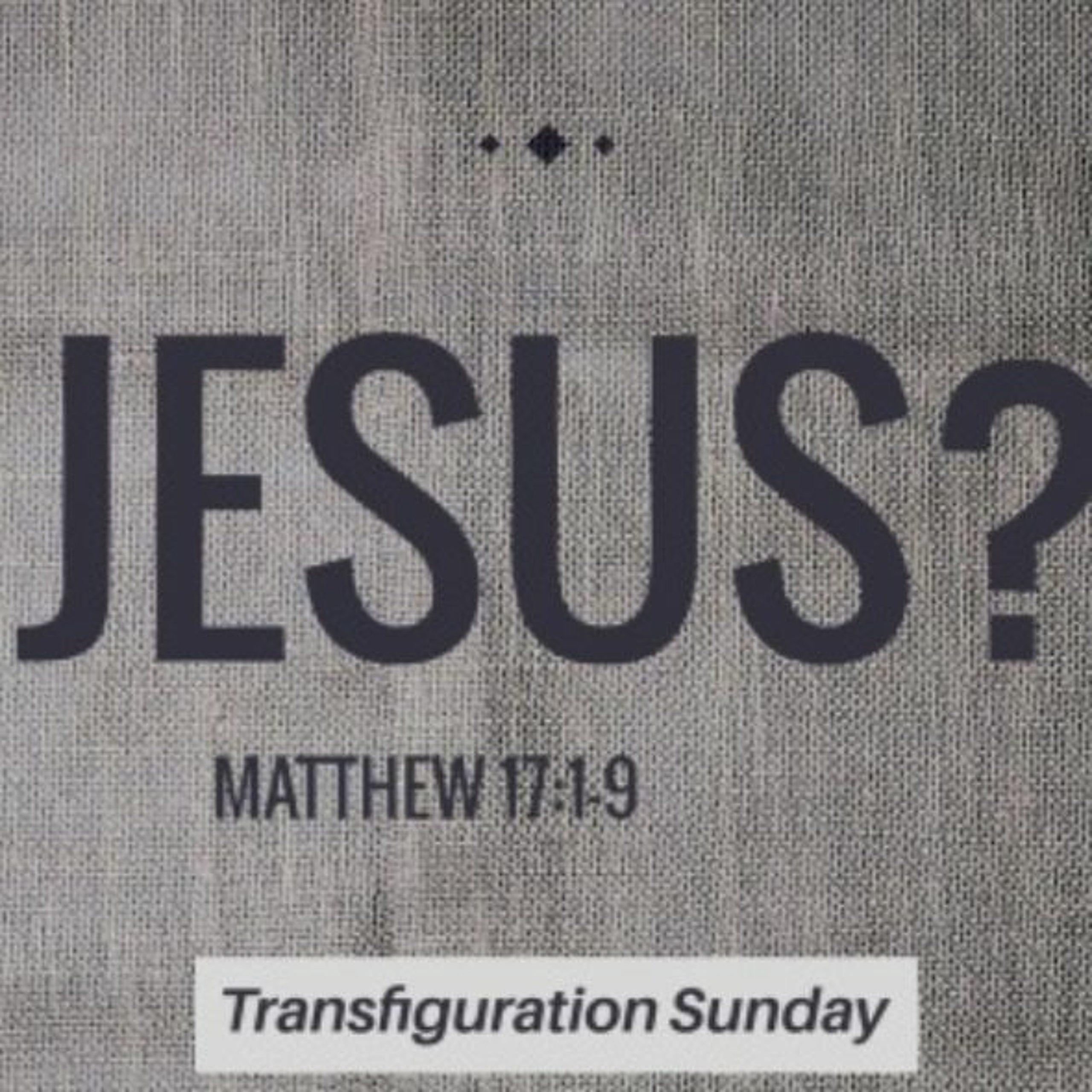 Jesus?